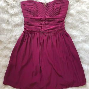 Parker Strapless Mini Dress - 100% Silk